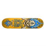 Bad to the Bone Skull Skateboard Deck