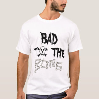 Bad To The Bone Skull T-shirt