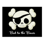 Bad To The Bones Postcard