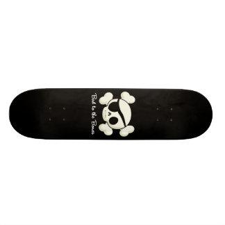 Bad To The Bones Custom Skate Board