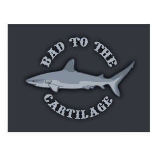 Bad to the Cartilage Postcard