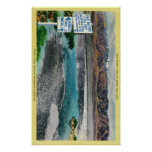 Bad Water at Death Valley National Monument Poster