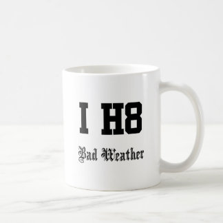 Bad weather coffee mug