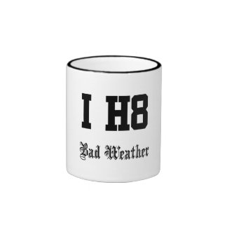 Bad weather ringer mug