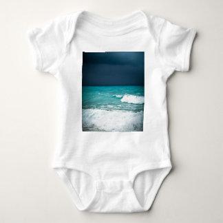 Bad weather seascape baby bodysuit