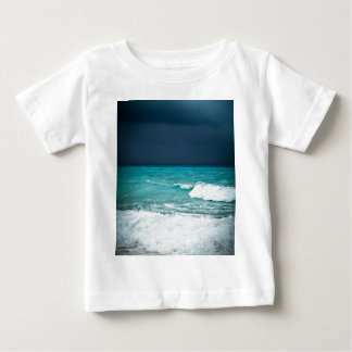 Bad weather seascape baby T-Shirt