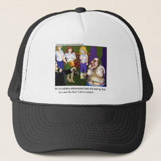 Bad Wet Tee Contest Funny Cartoon Gifts & Tees Trucker Hat