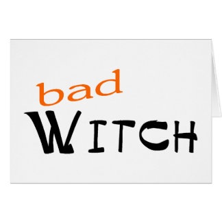 bad Witch Card