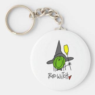 Bad Witch Key Chain