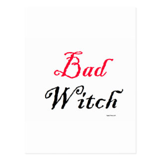 Bad Witch Postcard