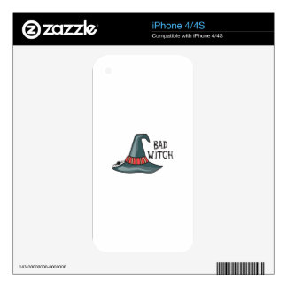 BAD WITCH SKIN FOR THE iPhone 4