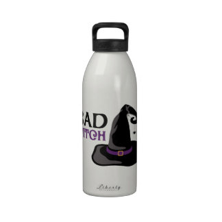 BAD WITCH DRINKING BOTTLE