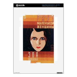 Bad Young Russian Woman iPad 3 Skins
