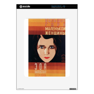 Bad Young Russian Woman Skin For iPad