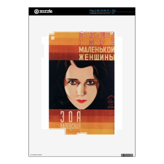 Bad Young Russian Woman Skin For iPad 2