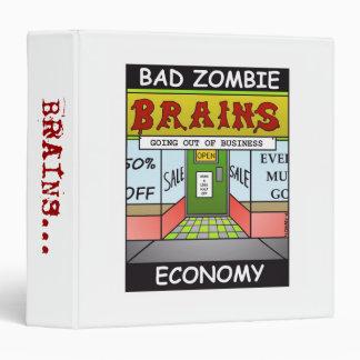 """""""Bad Zombie Economy"""" Binder"""