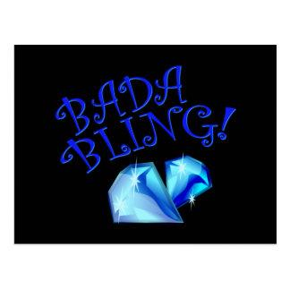 Bada Bling Postcard