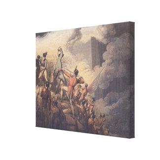 Badajoz, el 6 de abril de 1812, 'de las victorias  lona envuelta para galerias