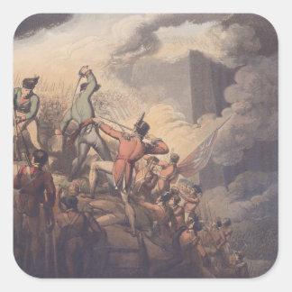 Badajoz, el 6 de abril de 1812, 'de las victorias pegatina cuadrada