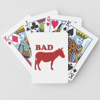 Badass Baraja Cartas De Poker