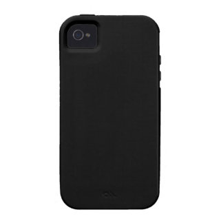 Badass Black (and customizable) Vibe iPhone 4 Covers