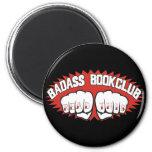 Badass Bookclub 2 Inch Round Magnet