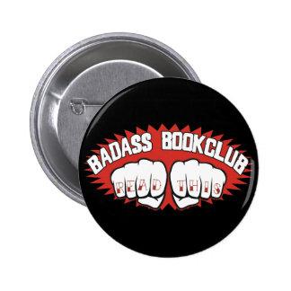Badass Bookclub Pinback Button