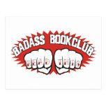 Badass Bookclub Post Card