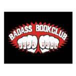 Badass Bookclub Postcards