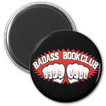 Badass Bookclub Refrigerator Magnet