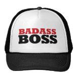 Badass Boss divertido Gorras