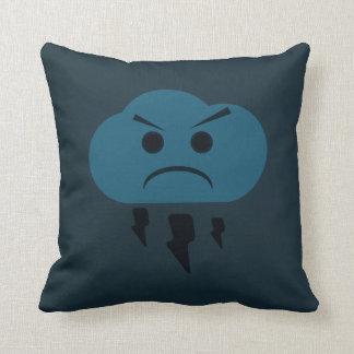 Badass Cloud Illustrated Pillow