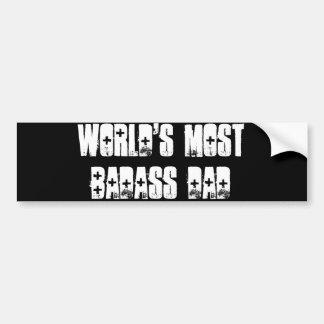Badass Dad Bumper Sticker