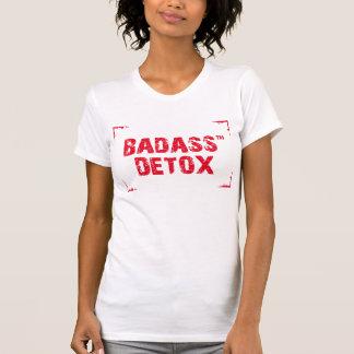 Badass Detox - white t-shirt, size M Shirts