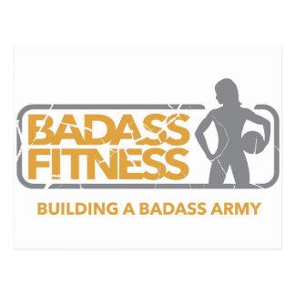 Badass Fitness swag! Postcard