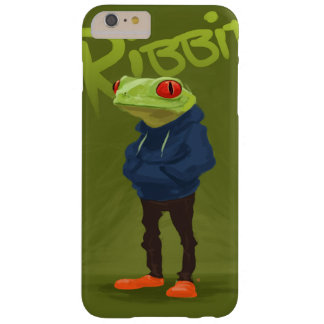 Badass Frog Ribbit Barely There iPhone 6 Plus Case