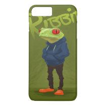 Badass Frog Ribbit iPhone 8 Plus/7 Plus Case