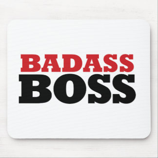 Badass Funny Boss Mouse Pad