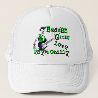 Badass Girls Love Psychobilly Hat