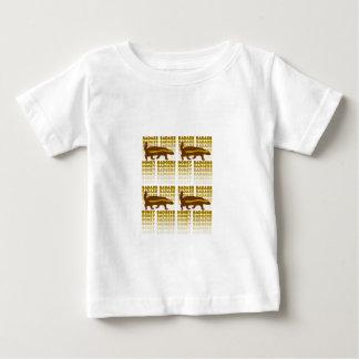 Badass Honey Badgers Baby T-Shirt