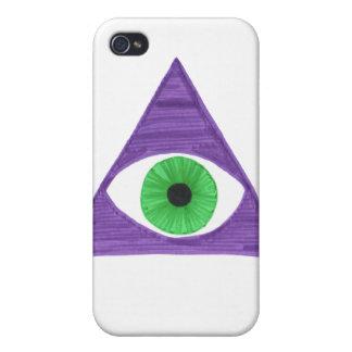 Badass Illuminati iPhone 4/4S Covers