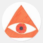 Badass Illuminati Sticker