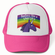 Badass Like A Unicorn! Trucker Hat