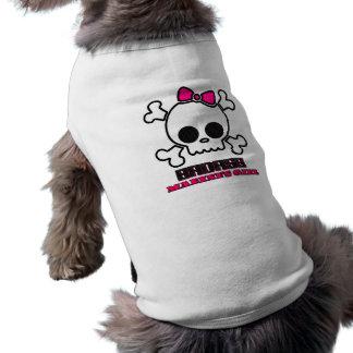 Badass Marine's Girl Doggie T-shirt
