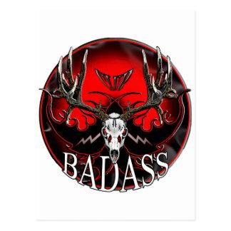 Badass Postcard