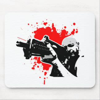 Badass Shooter Mouse Pad