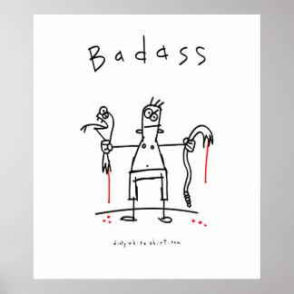 Badass Snake Guy Print