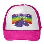 ¡Badass tiene gusto de un unicornio! Gorras