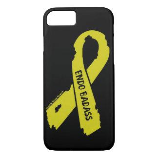 Badass/ torn ribbon...Endometriosis iPhone 8/7 Case