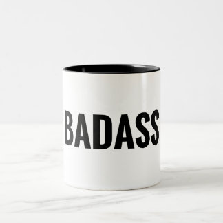 Badass Two-Tone Coffee Mug